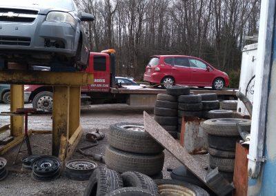 Pieces d'autos L'achigan - Pièces d'autos usagées J.G Rivest inc à Saint-Roch-de-L'Achigan et Lanaudière