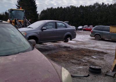 fourrière voitures à l'achigan - Pièces d'autos usagées J.G Rivest inc à Saint-Roch-de-L'Achigan et Lanaudière
